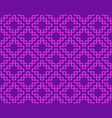 seamless thai weave pattern in geometric style vector image