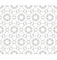 subtle geometric seamless pattern delicate white vector image vector image