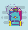 back to school supply vector image vector image