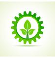 green energy part icon design concept vector image