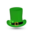 Hat St Patrick s Day vector image vector image