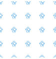 home key icon pattern seamless white background vector image vector image