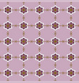 japanese seamless pattern flower vector image vector image