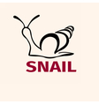 Snail3 vector image vector image