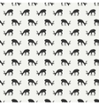 Tribal ethnic seamless pattern with deer Reindeer vector image vector image