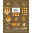Infographics elements vector image