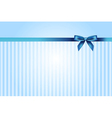 Blue background with bow vector | Price: 1 Credit (USD $1)
