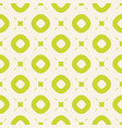 bright summer seamless pattern with circles and vector image vector image