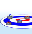 Curling vector image