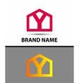 Letter Y logo symbol icon vector image vector image