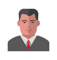 manager avatar vector image vector image