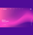 vibrant gradient background vector image vector image