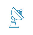 base station linear icon concept base station vector image