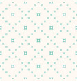 geometric seamless pattern with small perforated vector image vector image