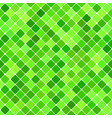 green abstract seamless diagonal square pattern vector image vector image