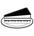 pastry icon image vector image vector image