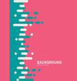 vertical dynamic element for design poster flyer vector image vector image