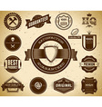 Vintage labels Collection 7 vector image