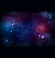 Abstract open space background starfield universe