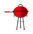 bbq barbecue grill icon image vector image