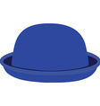 Blue hat vector image