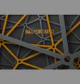 design technological background vector image vector image