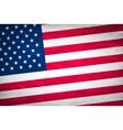 image of american flag independence day vector image