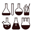 Laboratory equipment vector image vector image