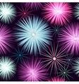 Star seamless beautiful pattern vector image
