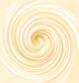swirling creamy texture vector image