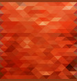 red polygonal background vector image
