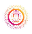 creative lord ganesha design for ganesh chaturthi vector image