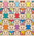 seamless background children vector image vector image
