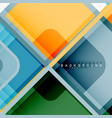 abstract background square shapes geometric vector image vector image