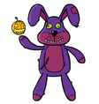 Bad Bunny puppet vector image vector image
