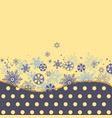 christmas background colorful snowflakes in polka vector image