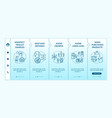 covid19 safety in shop onboarding template vector image