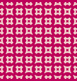 geometric red and pink seamless pattern with vector image