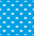 pencil pattern seamless blue vector image vector image