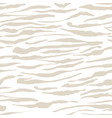 safari pattern white tiger or zebra seamless print vector image vector image