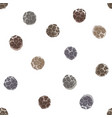 seamless pattern with hand drawn peppercorns vector image vector image