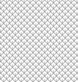 Barbed square rhombus linear seamless pattern vector image