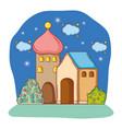 adobe house cartoon