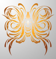 butterfly decorative vector image vector image
