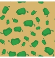 Green pepper seamless texture 603 vector image vector image
