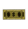 Isolated green money bill