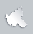 Map of Hamburg vector image vector image