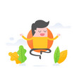 mindfulness vector image