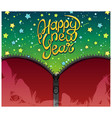 new year background design vector image vector image