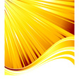 sunburst abstract vector image vector image